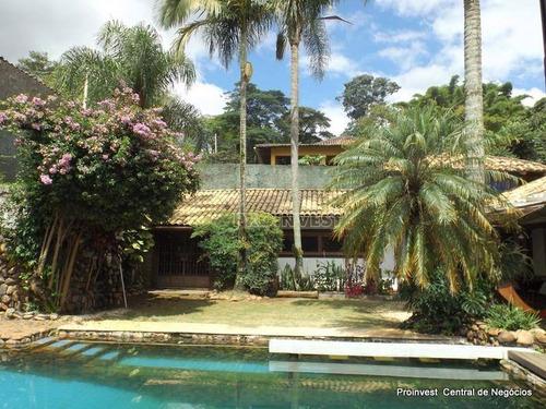 Imagem 1 de 30 de Casa Com 4 Dormitórios À Venda, 427 M² Por R$ 1.590.000,00 - Granja Viana - Carapicuíba/sp - Ca6884