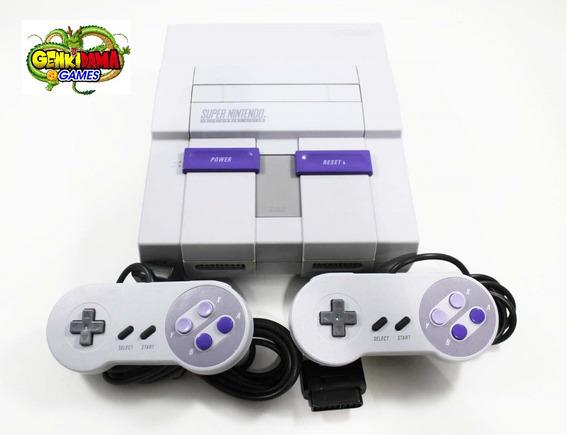 Snes Super Nintendo Completo + Garantia