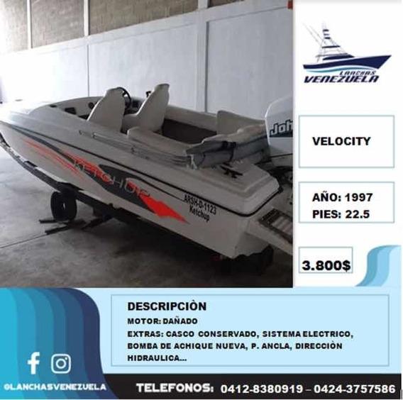 Lancha Velocity 22.5 Lv207