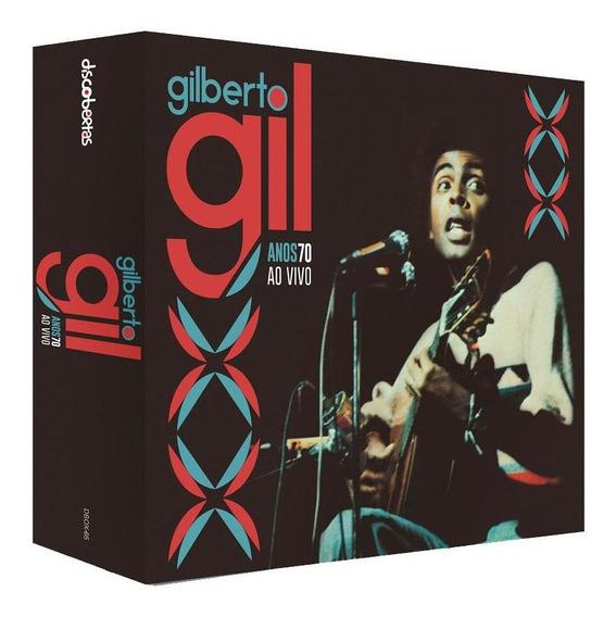 Gilberto Gil - Anos 70 Ao Vivo - Box Com 6 Cds