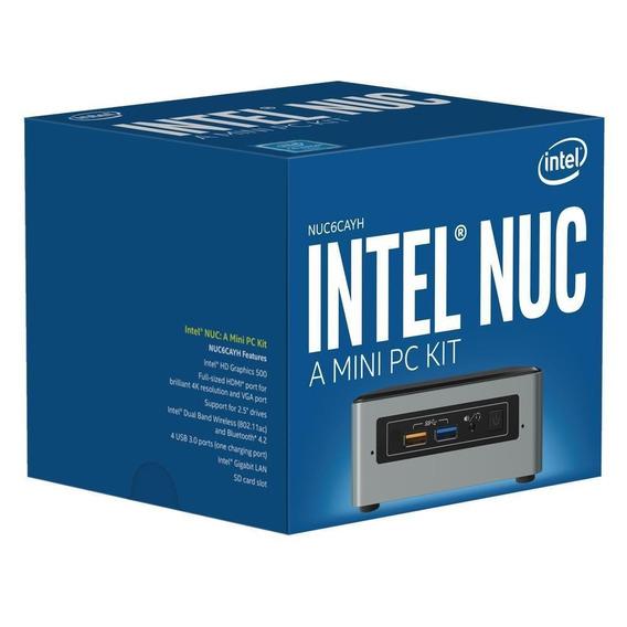Intel Nuc Nuc6cayh Quad Core J3455u Nota Fiscal Curitiba