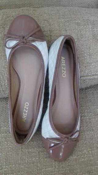 Sapatilha Arezzo 33\34! Sapato Novo - Em 12x