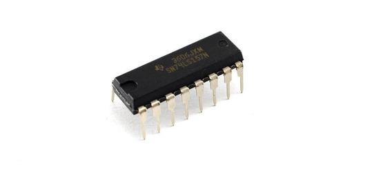 10pzs 74ls157 74157 Multiplexor Y Selector De Datos
