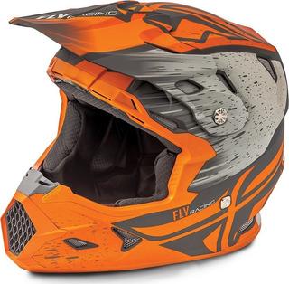 Casco Fly Racing Toxin Resin Motocross 73-8528