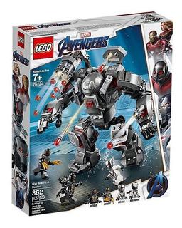Lego Marvel Avengers Depredador De Máquina De Guerra 76124