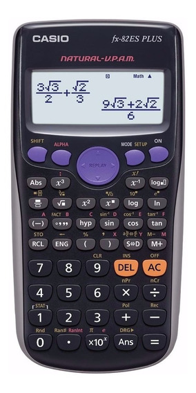 Calculadora Cientifica Casio Fx-82la Plus 252 Funcs Tienda