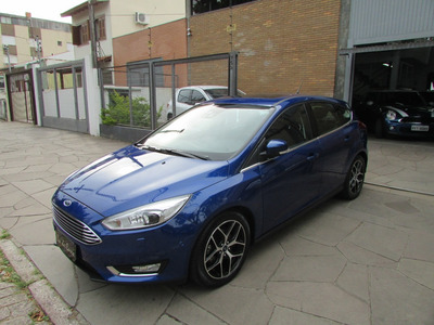Ford/focus Hatch Titanium Plus 2.0, Top De Linha, Xenon