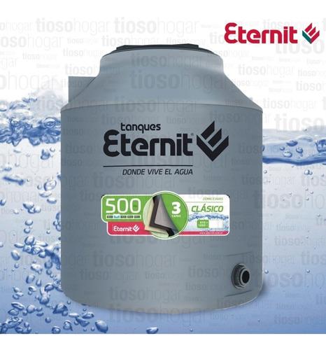 Tanque De Agua 500 Lts Tricapa Eternit Exterior Do Envio