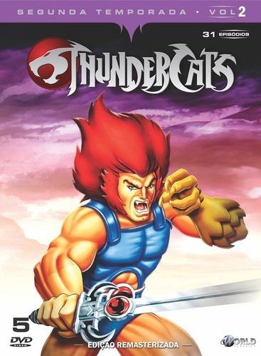 Box Dvd Thundercats - 2ª Temp. Vol. 2 ( Novo Lacrado )
