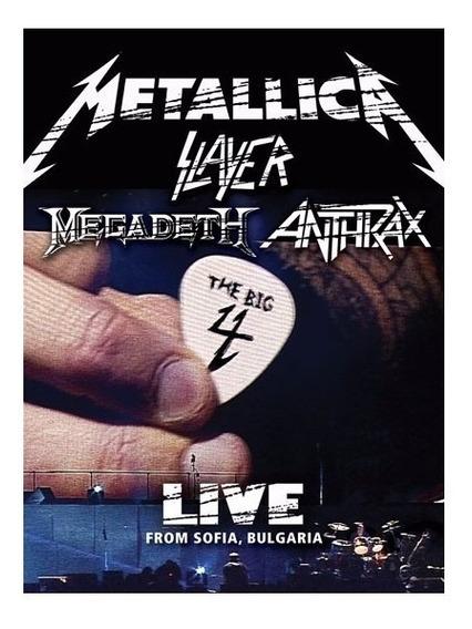 The Big 4 Live From Sofia Bulgaria 2 Dvd Metallica Megadeth
