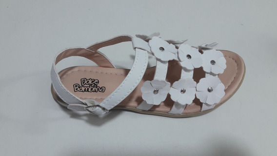 Sandalia Dolce Bambina Nenas.colores Blanco/negro/nude