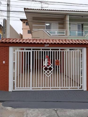 Imagem 1 de 27 de Sobrado Com 3 Dormitórios À Venda, 110 M² Por R$ 690.000,00 - Parada Inglesa - São Paulo/sp - So0182