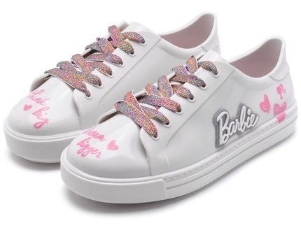 Tenis Feminino Infantil Barbie Fashion Ten