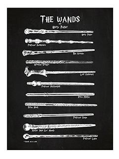 Poster De Varitas Magicas De Harry Potter