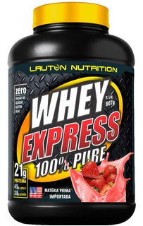Whey Protein Express 100% Puro 907g - Lauton Nutrition