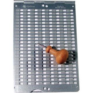 Maxiaids Pizarra Braille- Optima