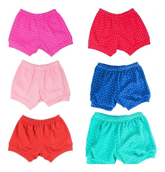 Shorts Tapa Fralda Kit 5 Pç Bebês Menino E Menina P,m,g,gg!
