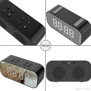 Reloj/despertador Inalambrico (aec Bt501)