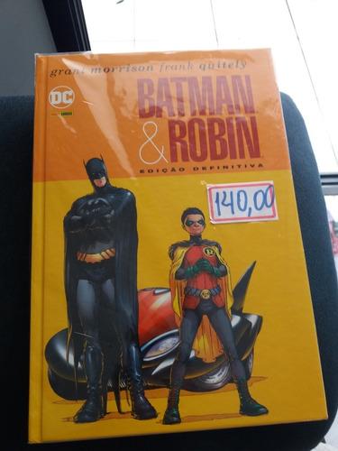 Imagem 1 de 2 de Batman E Robin Ed. Definitiva;  Morrison. Panini. Frete 15.0