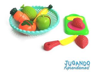Set Didactico De Comida Y Frutas