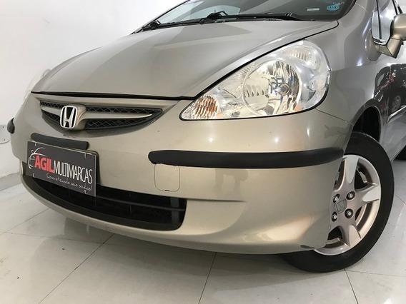Honda Fit 1.4 Lxl Único Dono 2008 Dourado