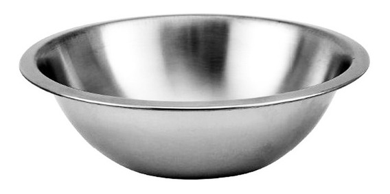 Bowl 26 Cm Livian Acero Inoxidable Repostero Ensaladera D+m