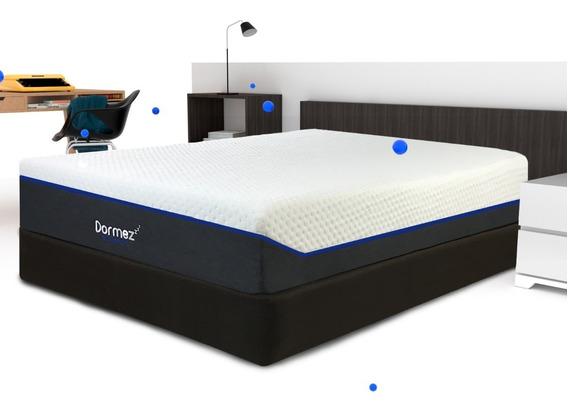 Colchón Queen Size Dormez Element2 Memory Foam + Box+ Envio