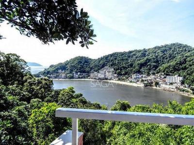 Oportunidade!! Linda Casa Com Vista Mar E Com 3 Dormitórios À Venda, 250 M² Por- Morro Dos Barbosas - São Vicente/sp - Ca0659
