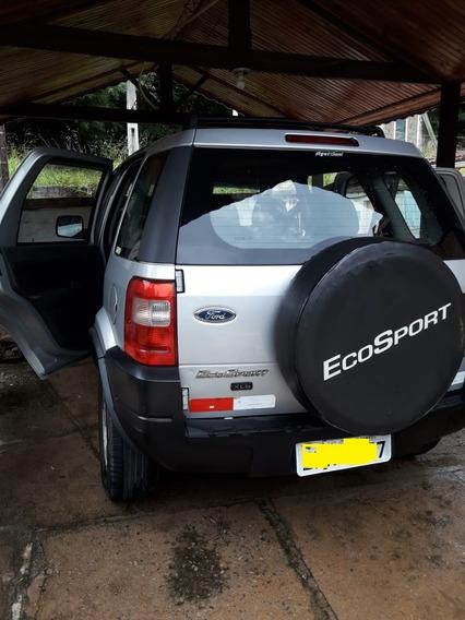 Ecosport 1.6 Prata Com Ar, Direção Completa
