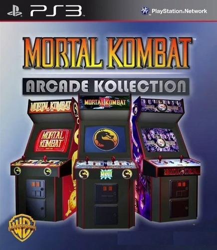 Mortal Kombat Arcade Collection Ps3 Original Juego