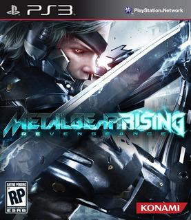 Metal Gear Rising Revengeance Ps3 Original Entrega Inmediata