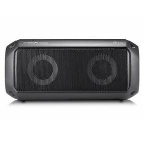 Caixa De Som Bluetooth Xboom Go Pk3 Preta Lg À Prova D´água