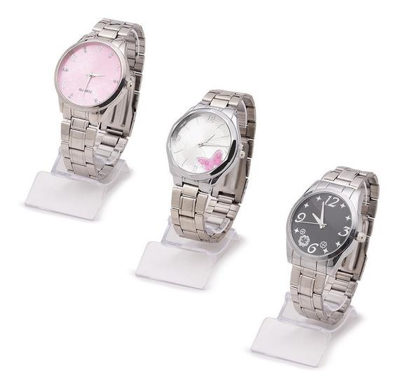 Kit 10 Relógios Feminino Da Moda Atacado E Revenda + Caixa