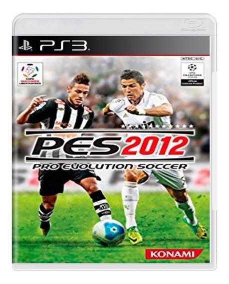Jogo Pes 2012 Playstation 3 - Mídia Física
