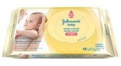 Johnsons Baby Toallitas Húmedas Recién Nacido X 96 U