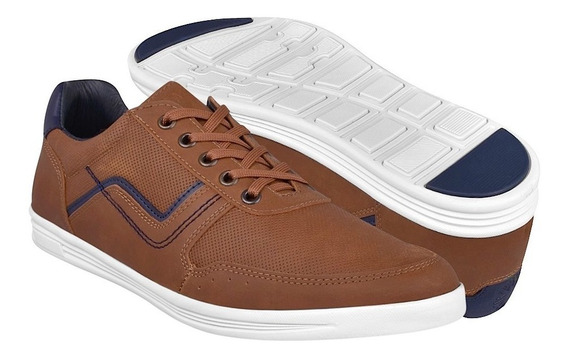 Zapatos Casuales Para Caballero What´s Up 182033 Camel