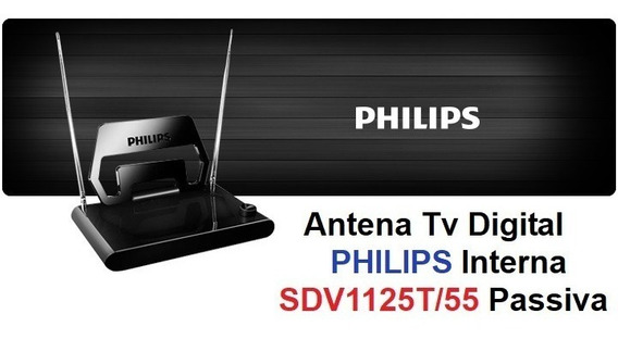 Antena Passiva Tv Digital Philips Interna - Sdv1125t/55 Novo