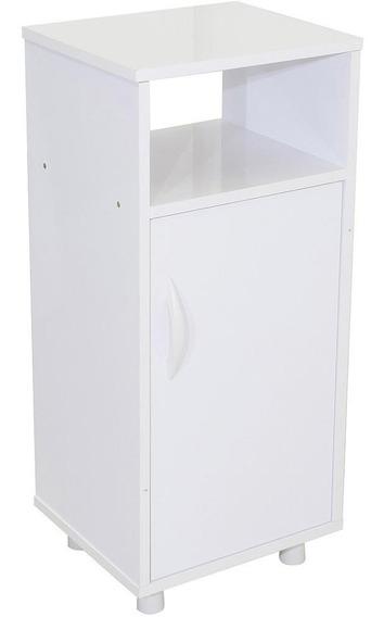 Armário Cristal P/ Galão De Água C/ 1 Porta Branco