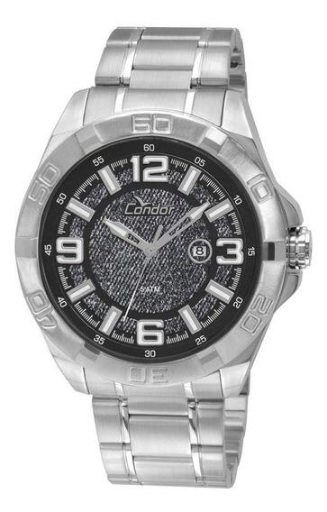 Relógio Unissex Condor Esportivo Prata - Original