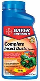 Bayer Advanced 700060a Complete Brand Insect Dust For Garden