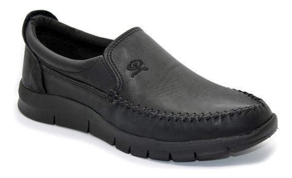 Zapatos Hombre Mocasin Nautico Cuero Ng