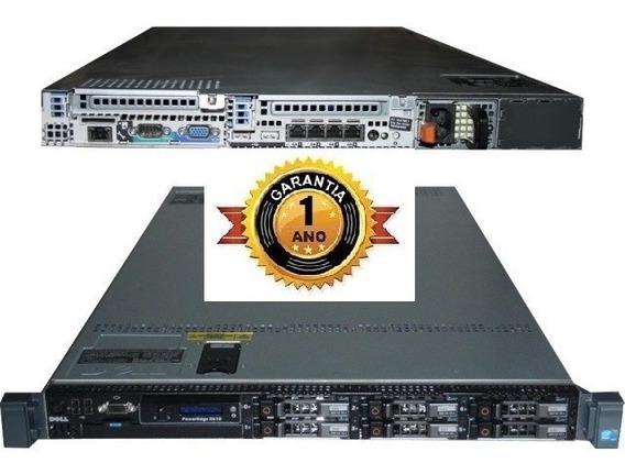 Servidor Dell R610 Intel Xeon Sixcore Ddr3 Hd Sas Sata Ssd