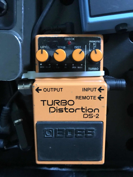 Pedal Turbo Distortion Boss