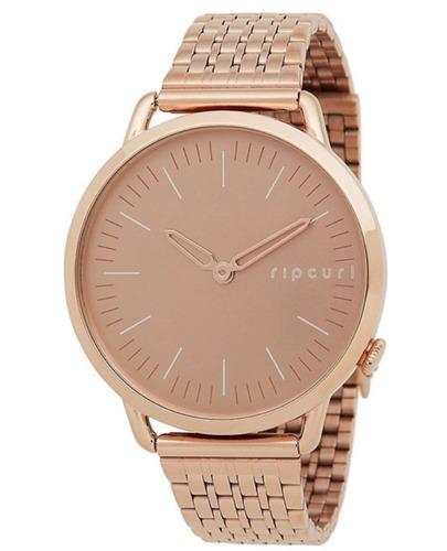 Relógio Super Slim Rosa/dourado