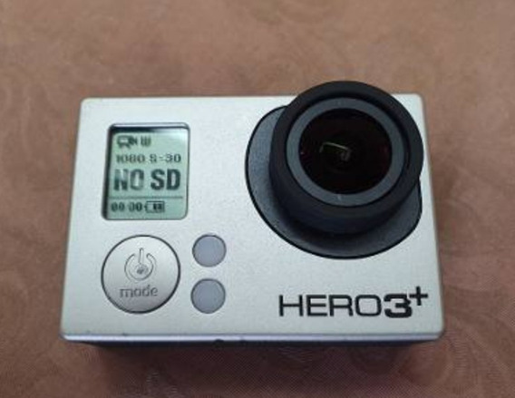 Gopro Hero 3+ Black Edition - Baterias Extras + Carregador