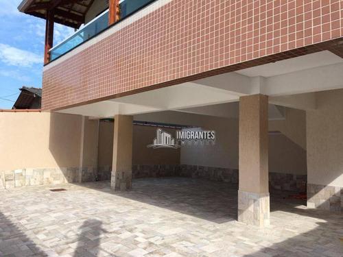 Imagem 1 de 12 de Casa De Condomínio Com 2 Dormitórios No Canto Do Forte, Em Praia Grande - Ca0350