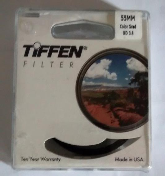 Filtro Tiffen 55mm Cor Grad Nd 0.6 Novo Lacrado.