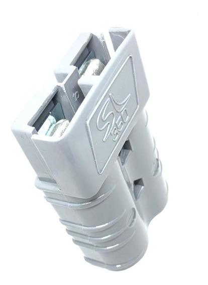 Conector Para Bateria De Empilhadeira Sb350 / Sl350 Cinza