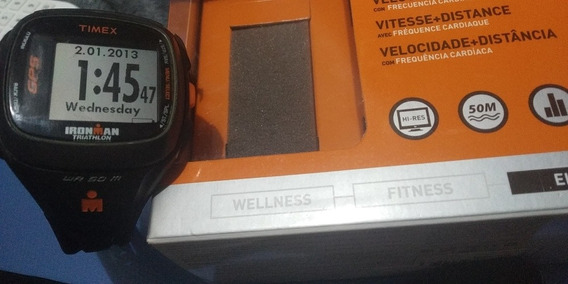 Relógio Timex Ironman Triathlon Run Trainer 2.0 Gps