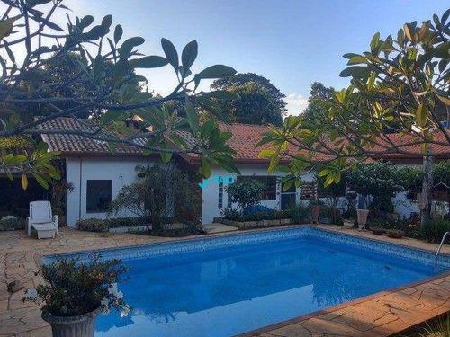 Imagem 1 de 13 de Chácara Com 5 Dormitórios À Venda, 1200 M² Por R$ 1.960.000,00 - Chácara Santa Margarida - Campinas/sp - Ch0039